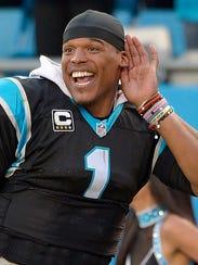 Cam Newton, QB de las Panteras de Carolina.