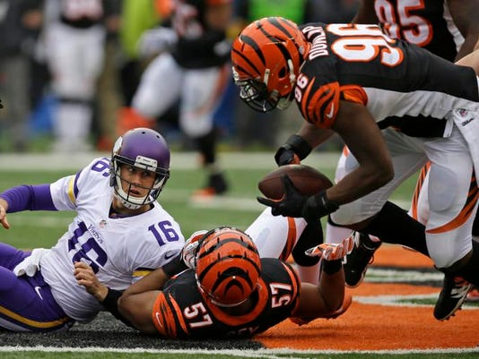 Vikings Bengals Football