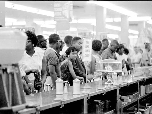 civil right sit in The montgomery bus boycott began a campaign of nonviolent civil disobedience to protest initiated some of the first sit-ins in the civil rights.