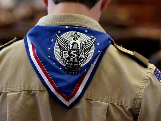 Boy Scout iconic photo
