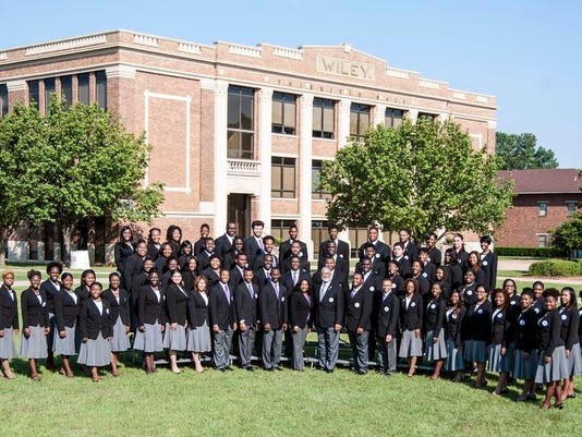 Wiley college s a cappella choir recently back from its second