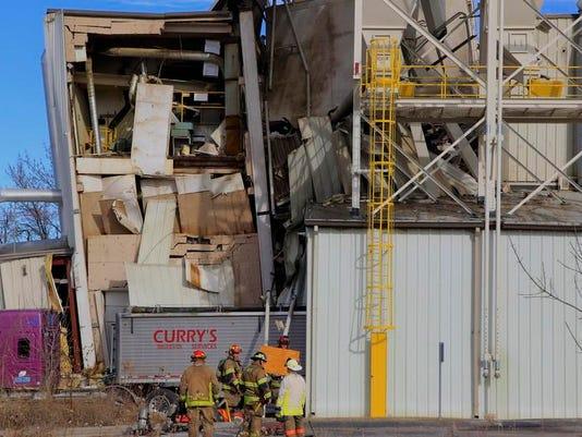 APTOPIX Industrial Accident Omaha