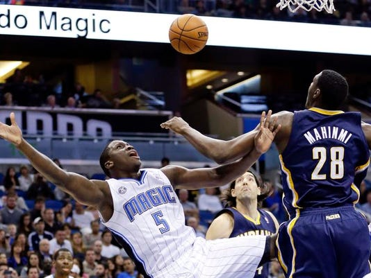 Pacers Magic Basketball
