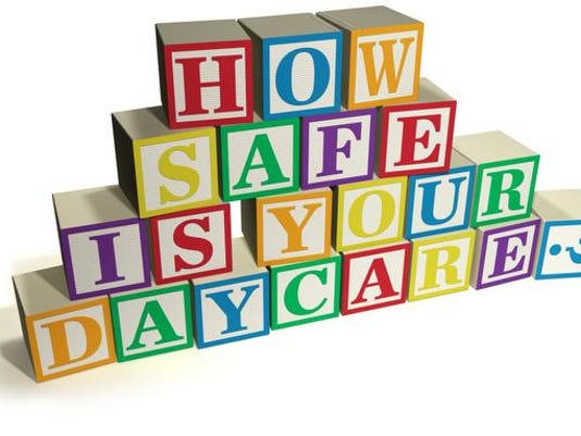 Day care safety blocks