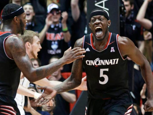 UConn Cincinnati Basketball