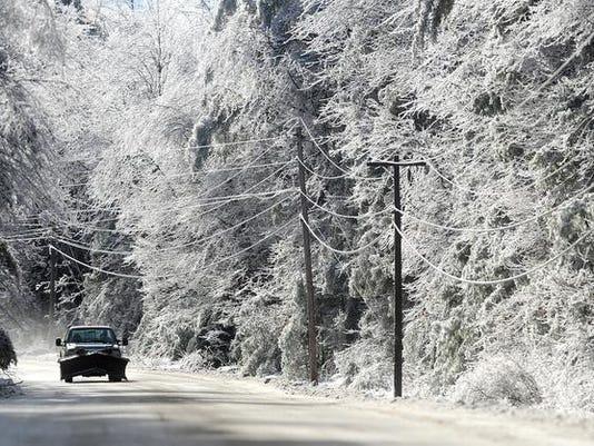 Ice Storm Maine