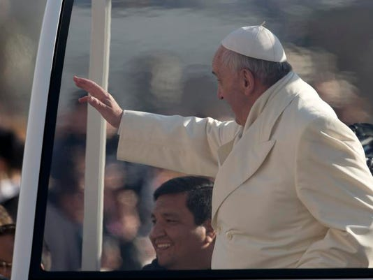 Vatican Pope's Passenger