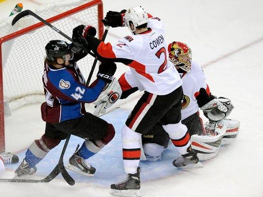 Senators Avalanche Hockey