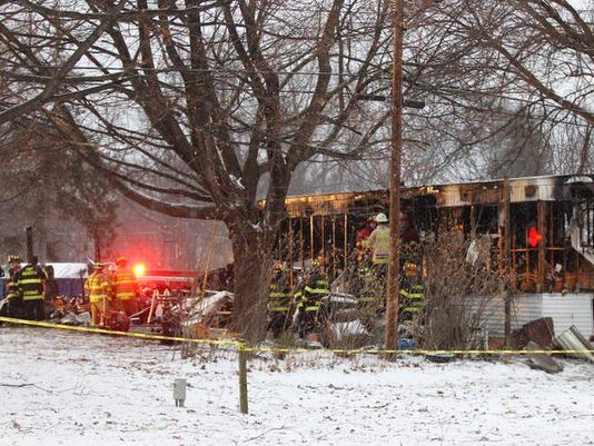 Fatal Fire Mobile Home