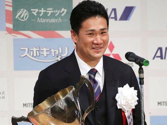 -Japan MLB Baseball Tanaka.JPEG-01e6d.jpg_20131227.jpg