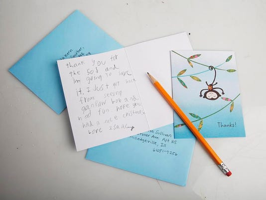 SAL0107-Thank you notes