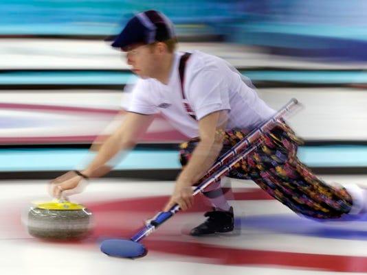 Sochi Olympics Curling Men