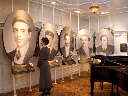 New Titanic Exhibitat Branson Attraction Pays Tribute To