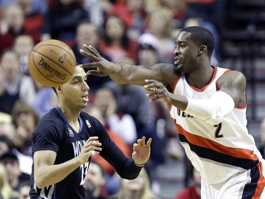 Timberwolves Trail Blazers Basketball