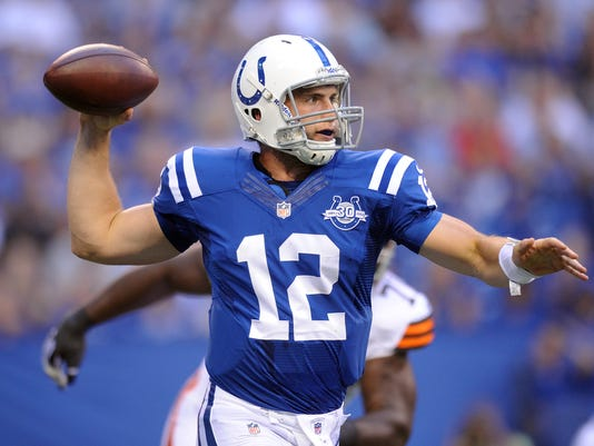 Andrew Luck passing