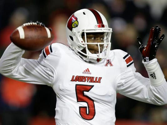 Louisville Staying the Course Football