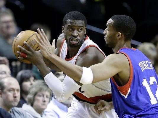 76ers Trail Blazers Basketball