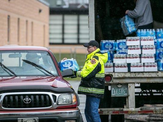 WV Chemical Spill - bottled water