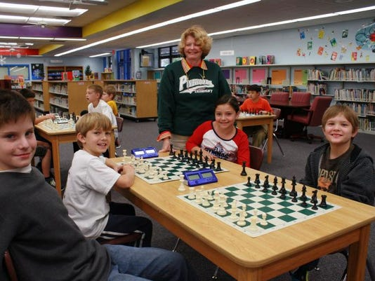 Pinewood Elementary School ~ Pinewoods elementary teacher shares enthusiasm for chess
