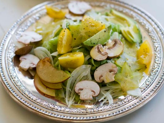Food American Table Celery Salad (2)