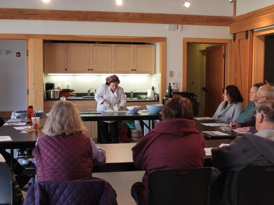Cooking workshop with Julie Gale at the Olana Wagon House 2013.jpeg