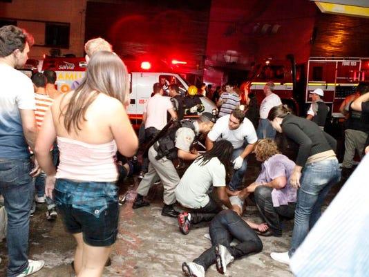 CORRECTION Brazil Nightclub Fire