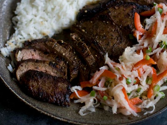 Food Flank Steak with Daikon Slaw (4)