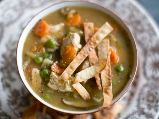 Food Healthy Chicken Soup (5)