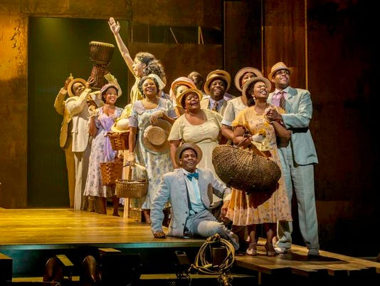 at least 3 cols Porgy and Bess cast members
