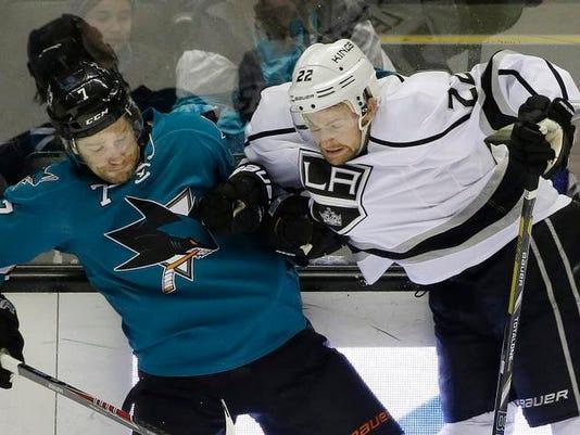 Kings Sharks Hockey
