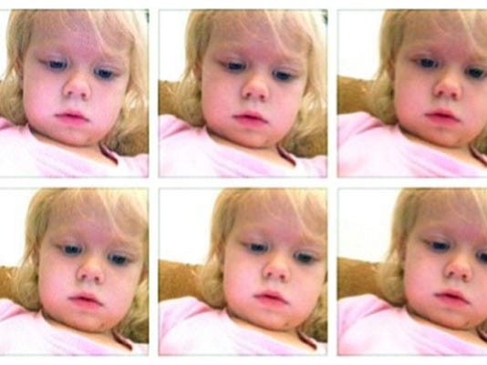 Toddler Selfies