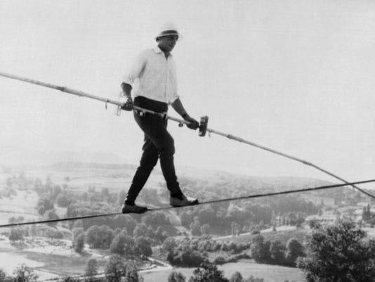 France Obit Tightrope Walker