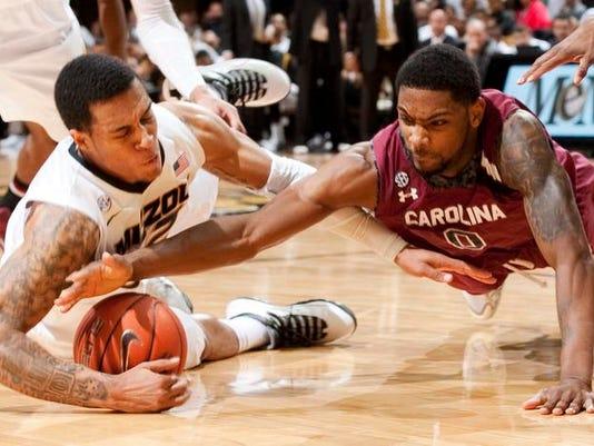 S Carolina Missouri Basketball