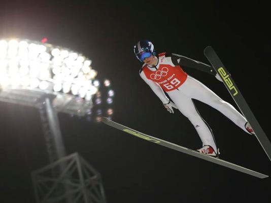 Sochi Olympics Ski Jumping Men