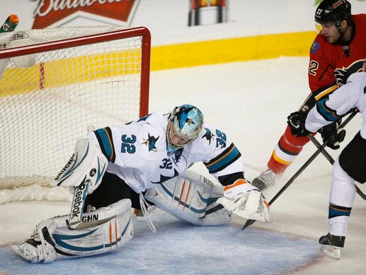 Sharks Flames Hockey (2)