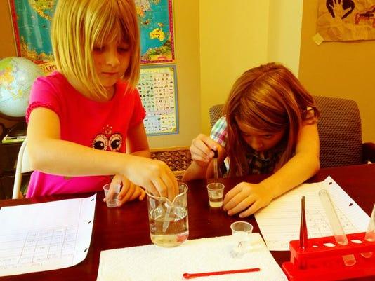 homeschool wilkes Science Experiment.JPG
