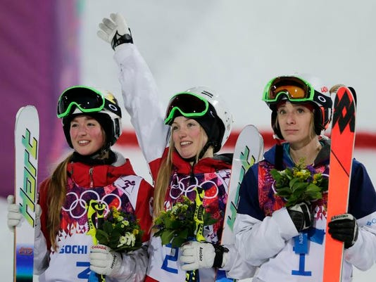 Sochi Olympics Freestyle Skiing Women