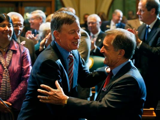 Colorado State of the State Hickenlooper