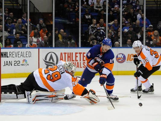 Flyers Islanders Hockey