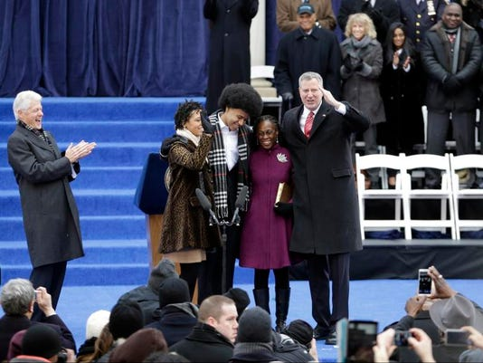 NYC Mayor Inauguration
