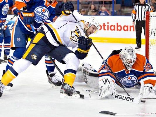 Predators Oilers Hockey