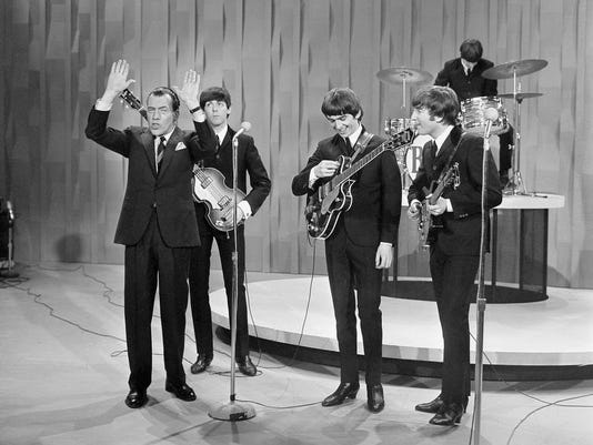 Beatles Ed Sullivan Feb 9 2014.JPG