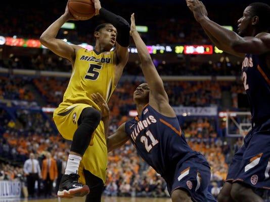 Illinois Missouri Basketball (2)