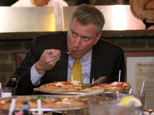NYC Mayor Pizza