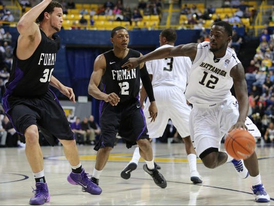 Furman Chattanooga Basketball