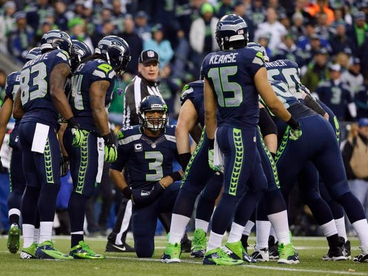 Super Bowl Seattle's Receivers Football
