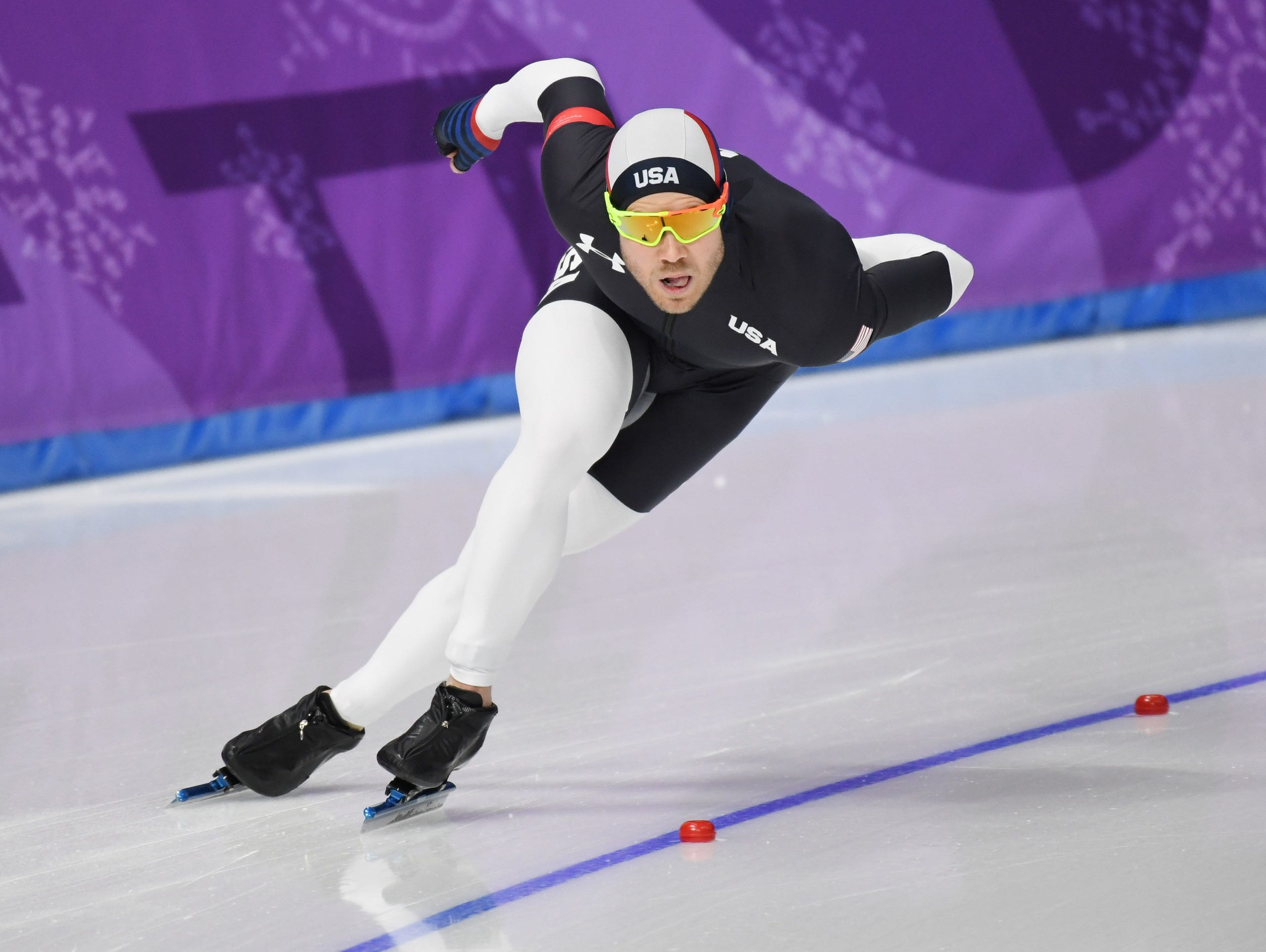 b6e7bf1ddaf Winter Olympics  Speedskater Joey Mantia living his life to extreme