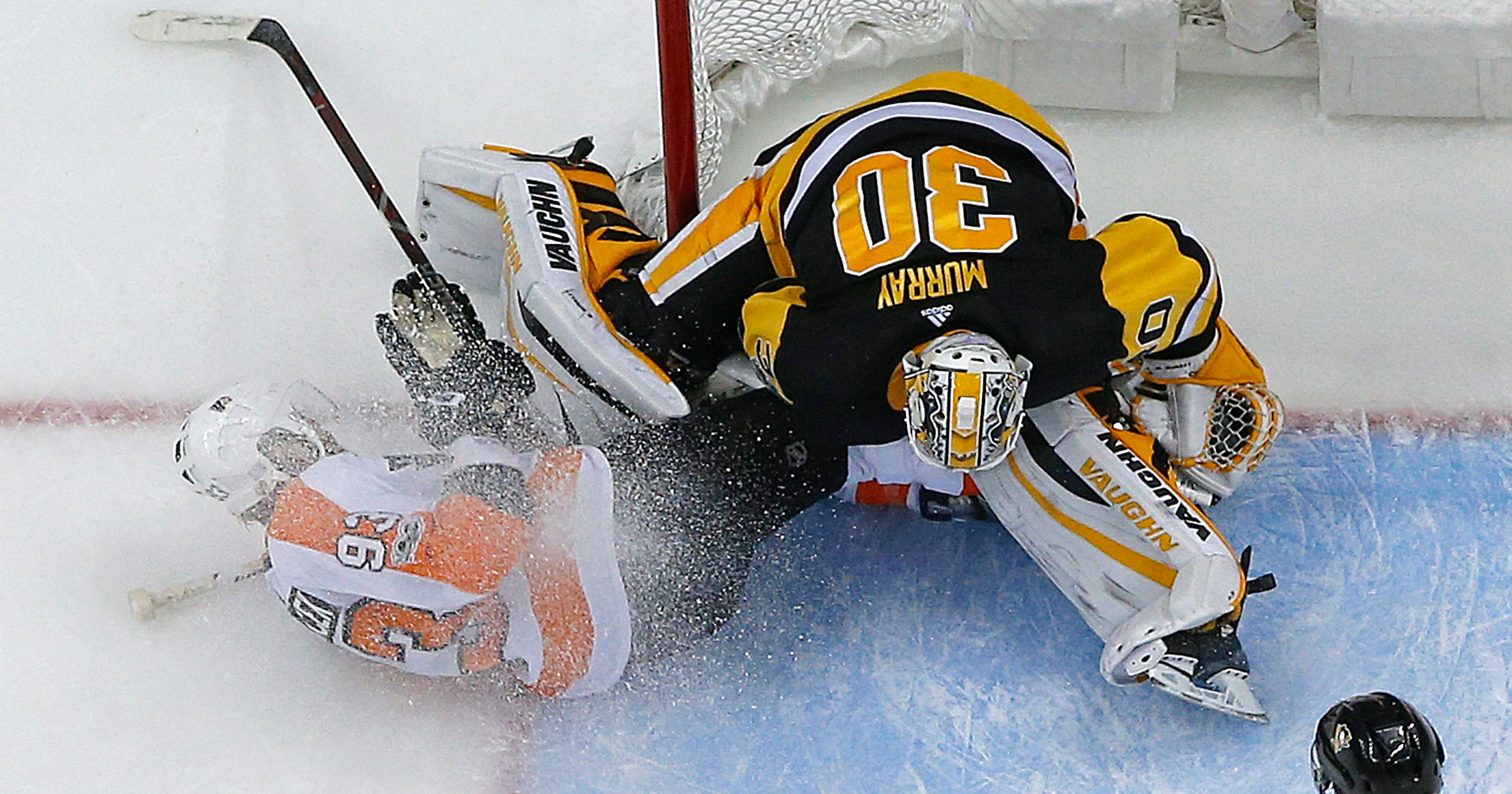 new style 631ad 240c6 Penguins goalie Matt Murray placed on injured reserve; out ...
