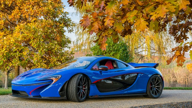 A McLaren P1 gifted to Rose-Hulman Institute of Technology alumnus will be auctioned March 10. Proceeds will endow a faculty chair at the institute and honor a longtime professor.