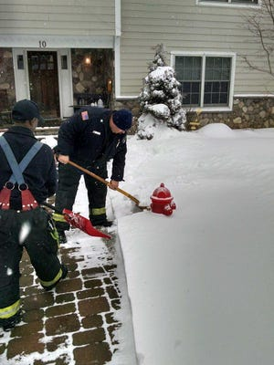Firefighters set a good example.